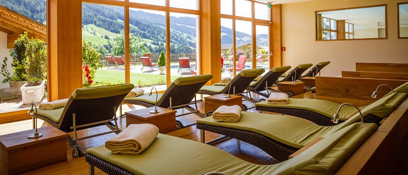 Hotel Alpbacherhof, Alpebach, Austria - relaxation area in summer.jpg